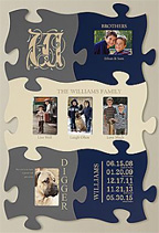 Personalized Puzzle Pieces Created By You Tell The Story Of Your Life Together